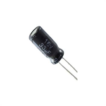 خازن الکترولیتی 33UF 16V