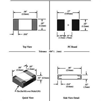 مقاومت 470R 0805 SMD